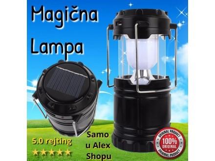 Punjiva lampa 6u1-idealna za bašte i kampovanja