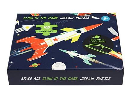 Puzle - Space Age Glow, 100pcs - Space Age