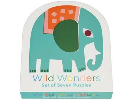 Puzle - set 7, Wild Wonders - Wild Wonders