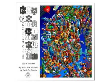 Puzze - Uzbudljivi Gradovi, New York