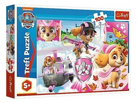 Puzzle 100 - Skye in action Paw Patrol