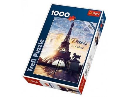Puzzle 1000 Trefl – Paris at Dawn