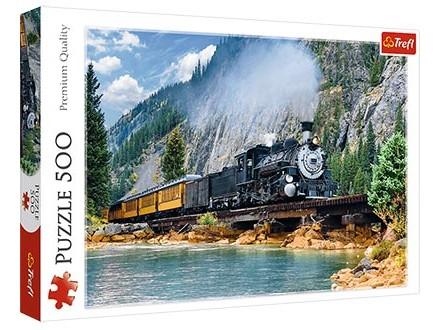 Puzzle 500 - Mountain train