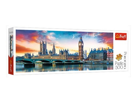 Puzzle - Big Ben and Palace of Westminster, London