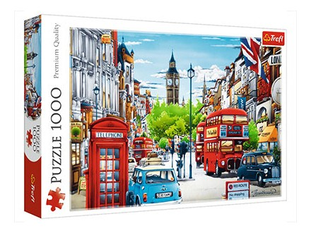 Puzzle - London street