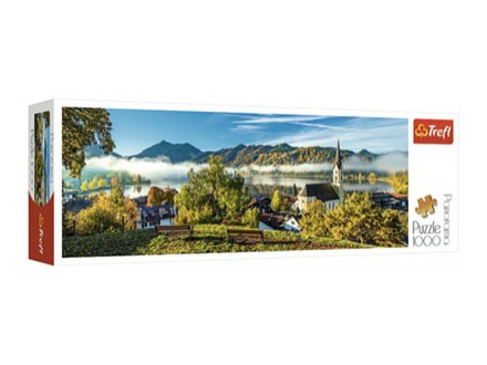 Puzzle - Panorama by the Schliersee Lake