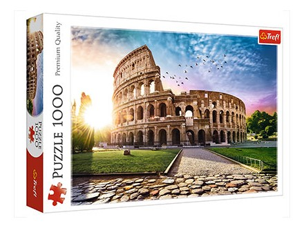 Puzzle - Sun drenched Colosseum