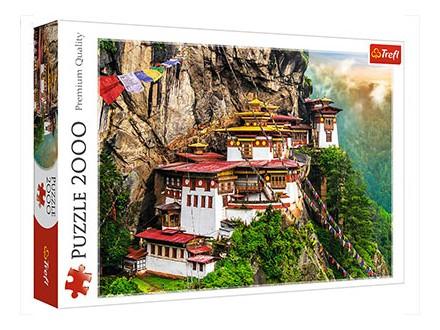 Puzzle - Tiger`s Nest, Bhutan