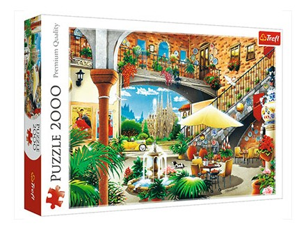 Puzzle - View of Barcelona