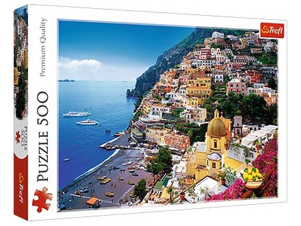 Puzzles - Positano, Italy / Fototeca