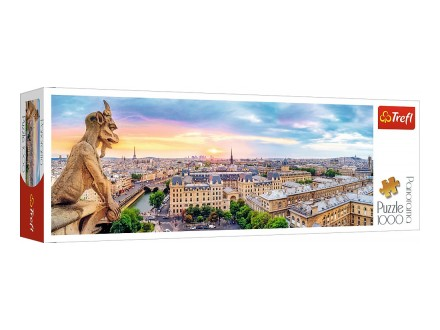 Puzzles - View from the Cathedral of Notre-Dame de Paris