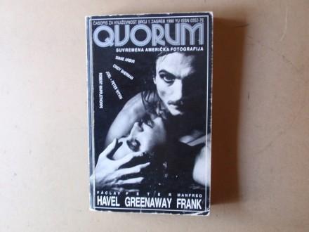 QUORUM broj 1 Zagreb 1990 - Časopis za književnost