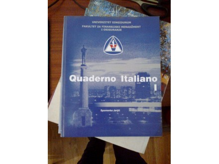 Quaderno Italiano I - Spomenka Janjić