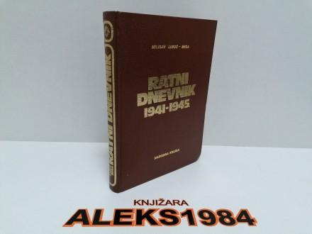 RATNI DNEVNIK 1941-1945 MILISAV LUKIĆ MISA