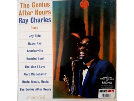 RAY CHARLES - THE GENIUS AFTER HOURS - LP