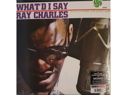 RAY CHARLES - WHAT D I  SAY - LP