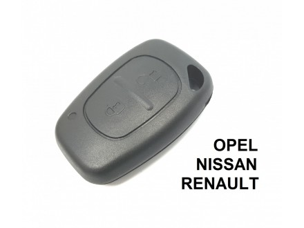 RENAULT kljuc sa dva dugmeta - NISSAN, OPEL