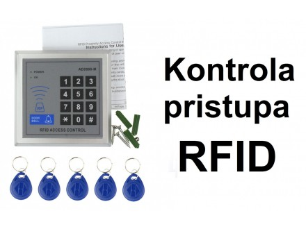 RFID Kontrola pristupa - tastatura i privesci