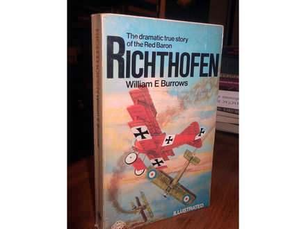 RICHTHOFEN - W. E. Burrows (biografija Crvenog barona)