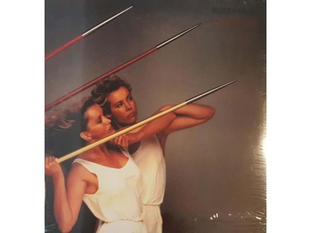 ROXY MUSIC - FLASH AND BLOOD - LP