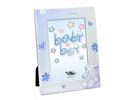 Ram 10x15 - Baby plavi medica