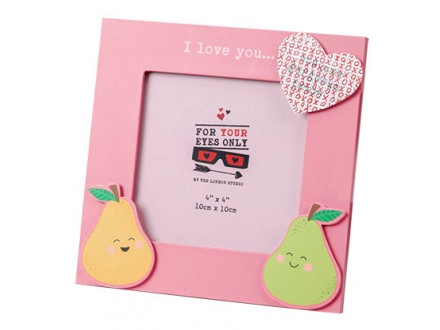 Ram - For Your Eyes Only Frame, Hidden Message Lovely Pear - Now or Never