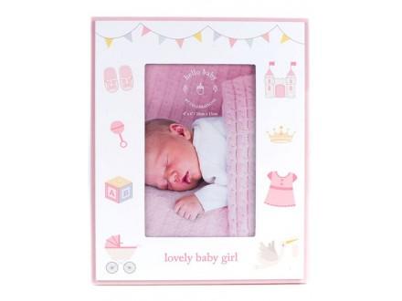 Ram - Hello Baby, Bunting, Baby Girl - Hello Baby