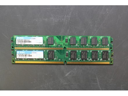 Ram memorija DSL 2 x 2Gb DDR2 667MHz