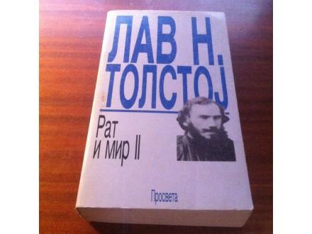 Rat i mir II Lav N . Tolstoj