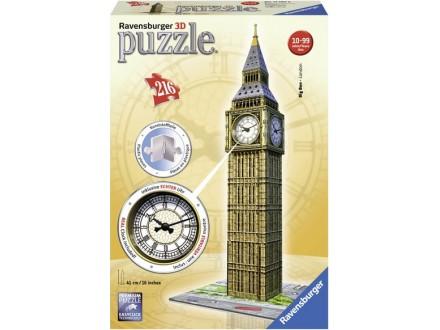 Ravensburger 3D puzzle - Big Ben sa satom