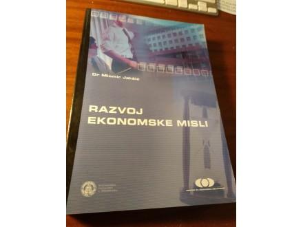 Razvoj ekonomske misli Miomir Jakšić