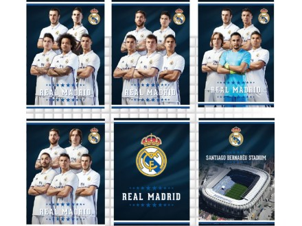 Real Madrid sveska A5 MP 6263