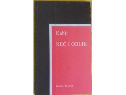 Reč i oblik   Kabir