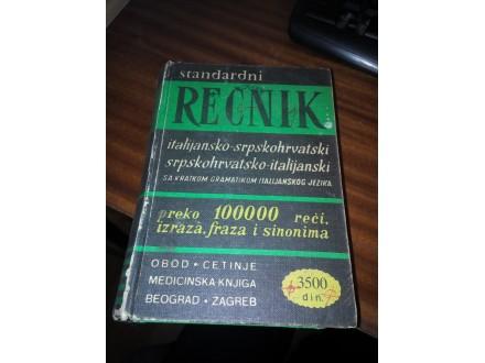 Rečnik italijansko-srpskohrvatski
