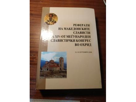 Referati na makedonskite slavisti Skopje 2008