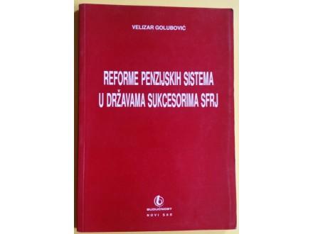 Reforme penzijskih sistema u državama sukcesorima  SFRJ
