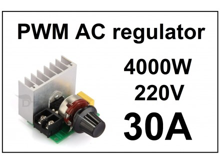 Regulator AC motora - PWM - 30A - 4000W