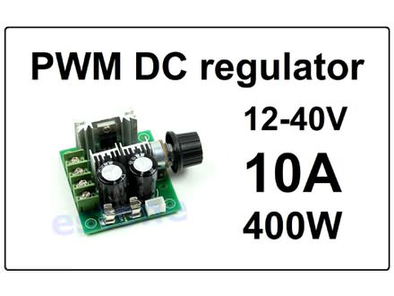 Regulator DC motora - PWM - 10A