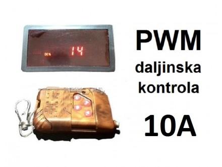Regulator DC motora - PWM - bezicna kontrola 10A