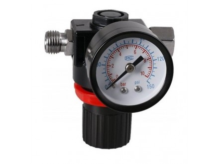 Regulator pritiska za kompresor 0-10 bara LEVIOR