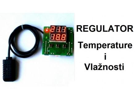 Regulator temperature i vlaznosti - 12V