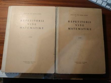 Repetitorij više matematike 1 i 2 deo Boris Apsen