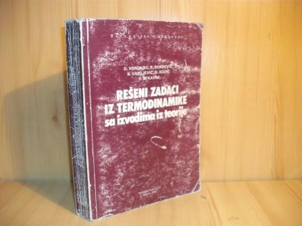 Rešeni zadaci iz termodinamike sa izvodima iz teorije