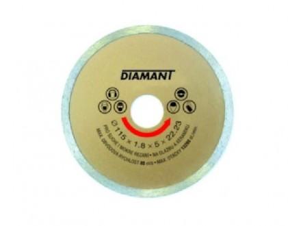Rezna ploča dijamantska puna 125 x 2 x 22.2mm LEVIOR