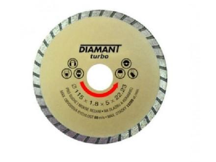 Rezna ploča dijamantska turbo  115 x 2.5 x 22.22mm LEVIOR
