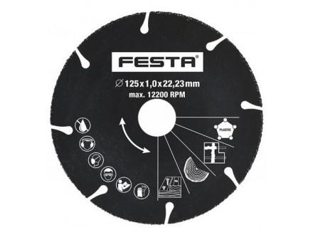 Rezna ploča dijamantska univerzalna 125x1 FESTA