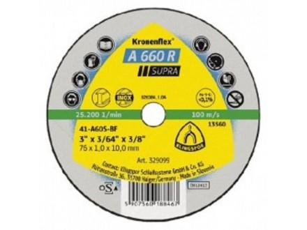 Rezna ploča za inox supra 115x 1mm  Klingspor