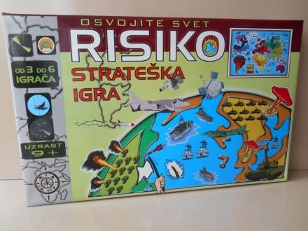Risiko Drustvena Igra Na Srpskom, Novo