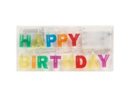Rođendanske ukrasne svetiljke - Happy Birthday - Kikkerland
