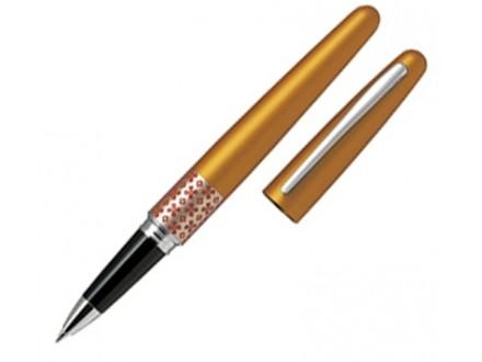 Roler Pilot, hemijska olovka, MR Retro Pop, metalik narandžasta